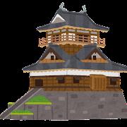 丸岡城のイラスト