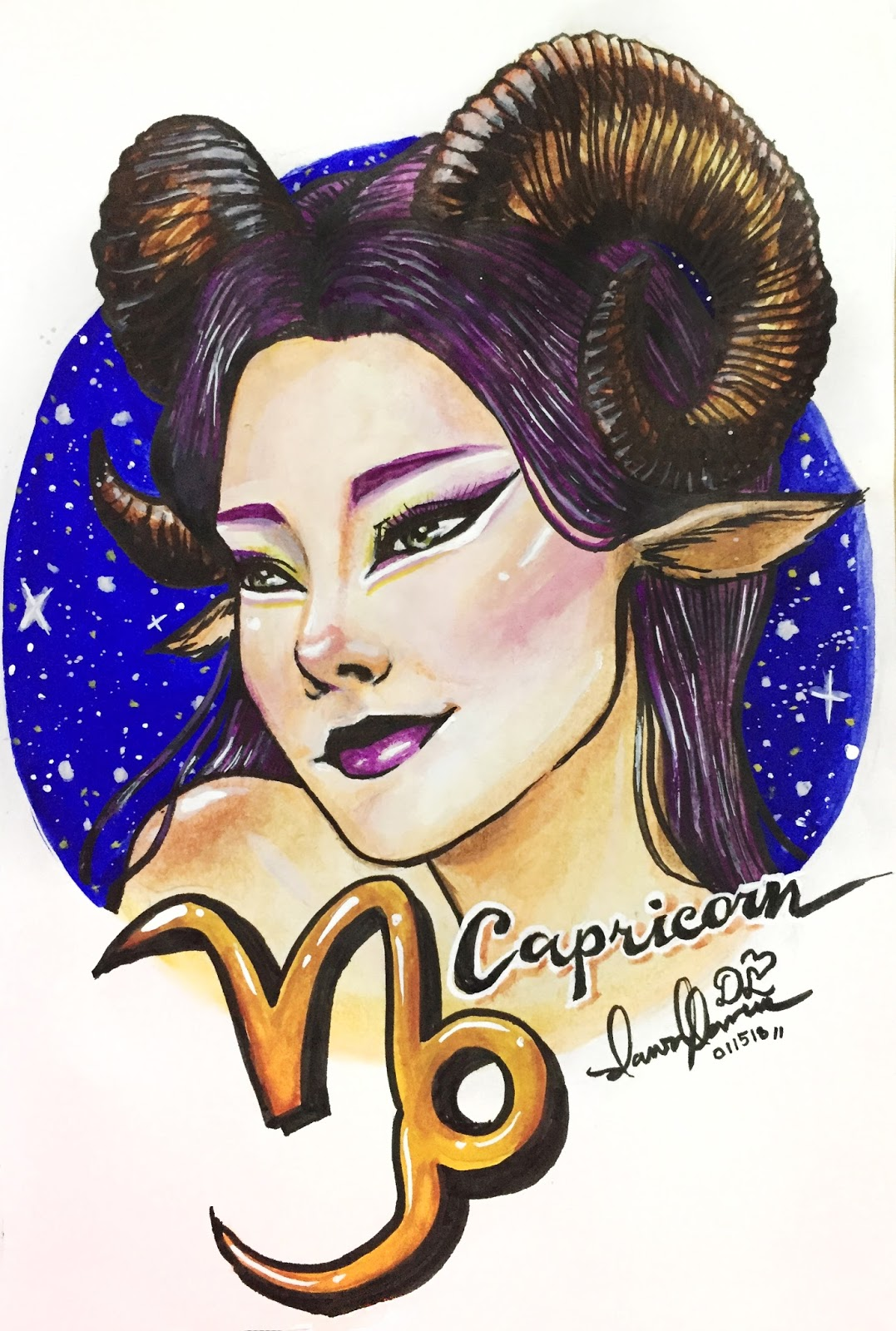 5120ad61128 My concept here are the zodiac signs turned into well... sort of human-like  or an anthropomorphic versions of the zodiacs. Here's Capricorn which is  usually ...