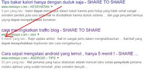 Hal aneh cara meningkatkan traffic blog