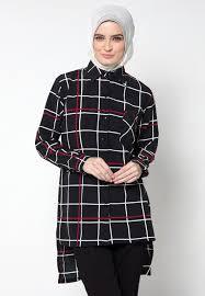 Model Pakaian Kemeja Kerja Wanita Muslimah Terbaru