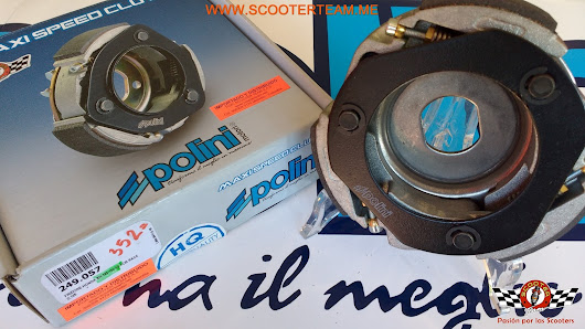 "CLUTCH POLINI AGILITY/N-MAX/JET4-5/SYM ""MAXI SPEED CLUTCH 3G FOR RACE"" referencia 249.057"