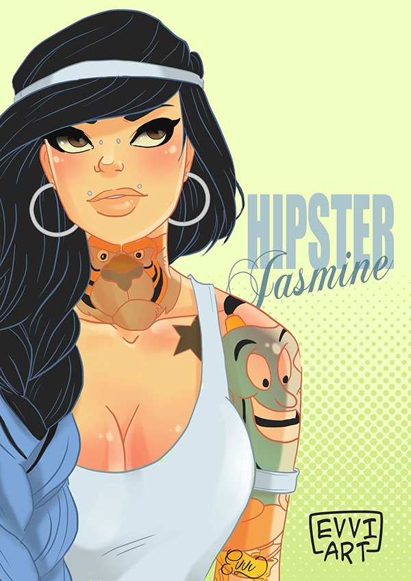 Disney Princesses Reimagined With Personalized Tattoos