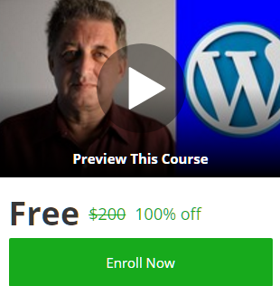 free wordpress online course