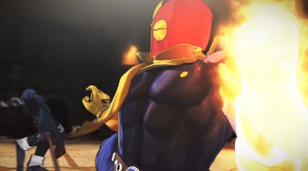 Captain Falcon Punch Lucina Super Smash Bros. For Wii U trailer cutscene anime