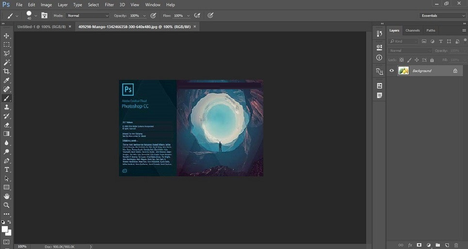 adobe photoshop cc 2017 v18.0.1 portable