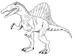 Dinosaur Spinosaurus For Coloring Pages