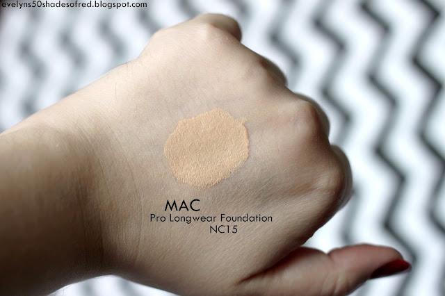 MAC Pro Longwear Foundation nc15