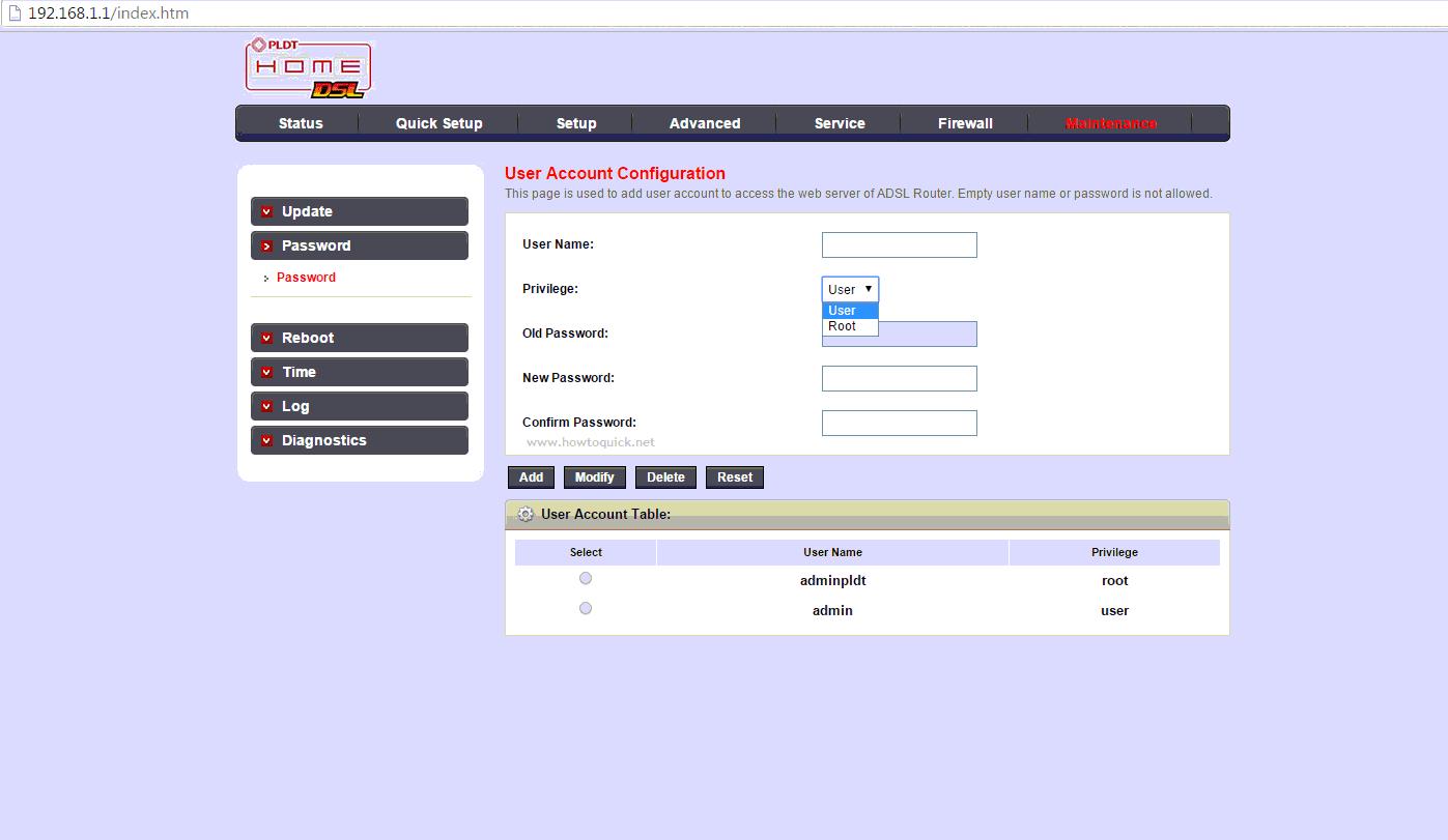 How To Change PLDT Kasda KW58293 Modem / Router Password