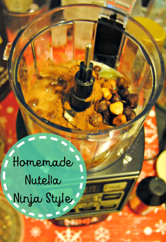 homemade nutella using nutri ninja nutri bowl duo