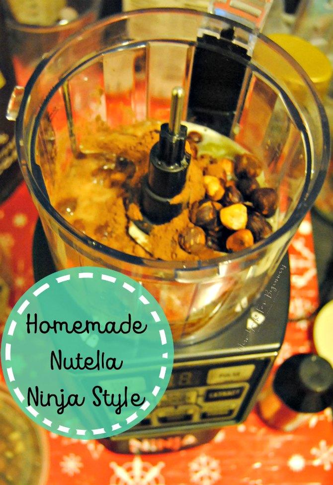 homemade nutella using nutri ninja nutri bowl duo