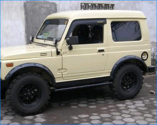 modifikasi mobil katana terbaru ceper jimny  gx long
