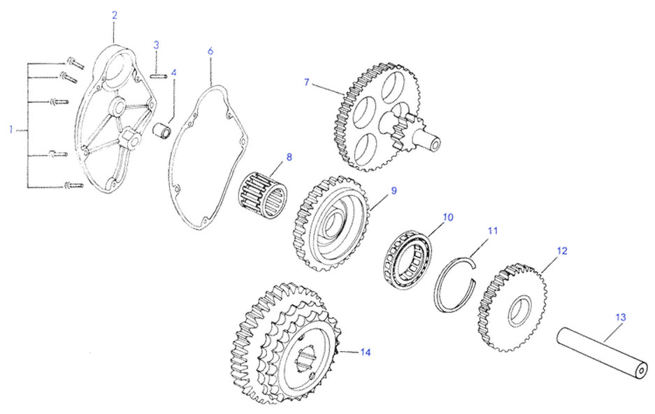 RoyalEnfields.com: Royal Enfield sprag clutch starter