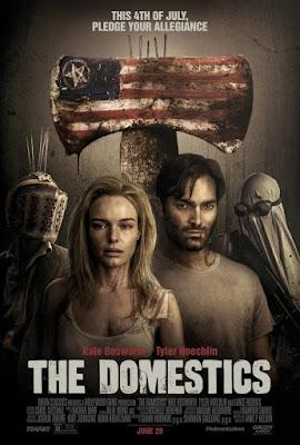 The Domestics 2018 DVD R1 NTSC Latino