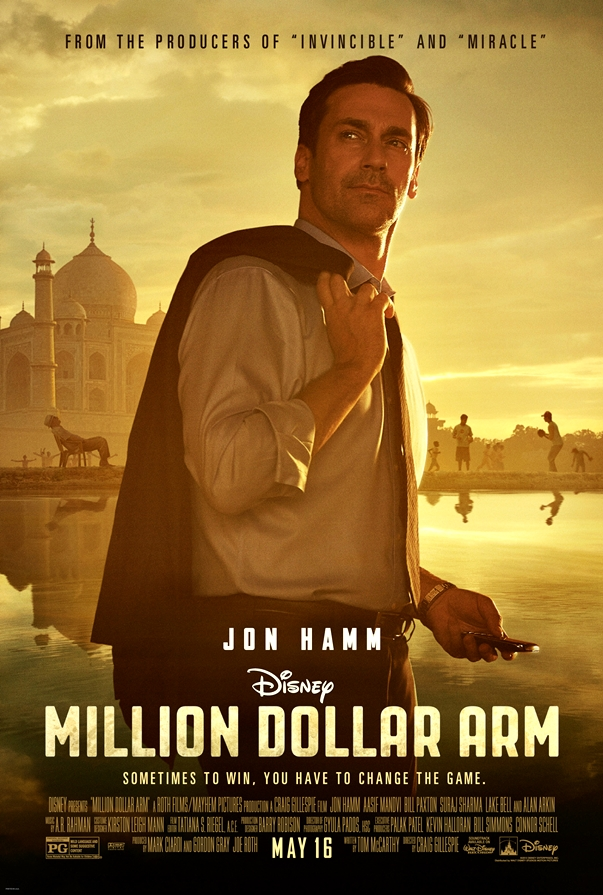 Million Dollar Arm póster