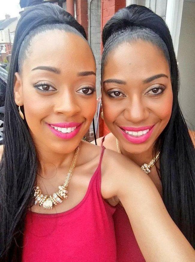 14 – Mãe e filha que mais parecem irmãs gémeas