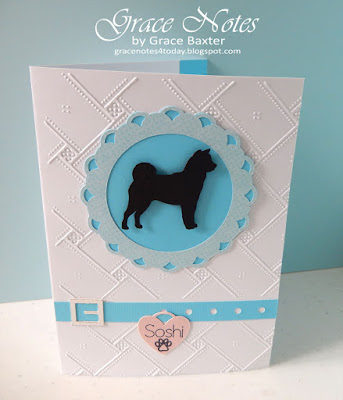 Pet Sympathy Card, designed by Grace Baxter