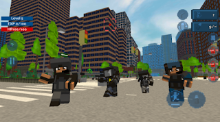 Game Police Block City App