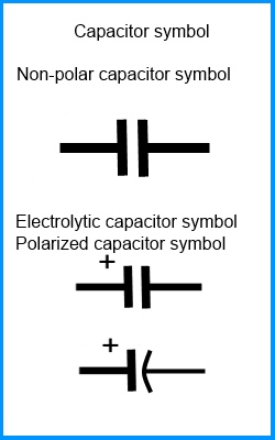 bs symbol electrolytic capacitor 28 images capacitors