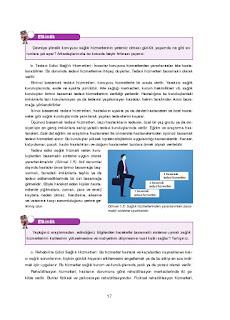 Sağlık Bilgisi ve Trafik Kültürü Ders Kitabı Cevapları Ada Yayınları Sayfa 17