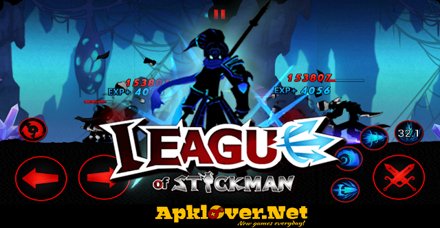 League of Stickman 2017 APK MOD Unlimited Money