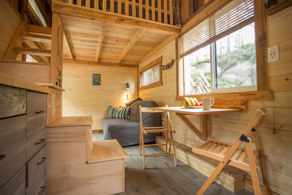 TINY HOUSE TOWN The Cowboy By Hummingbird Micro Homes