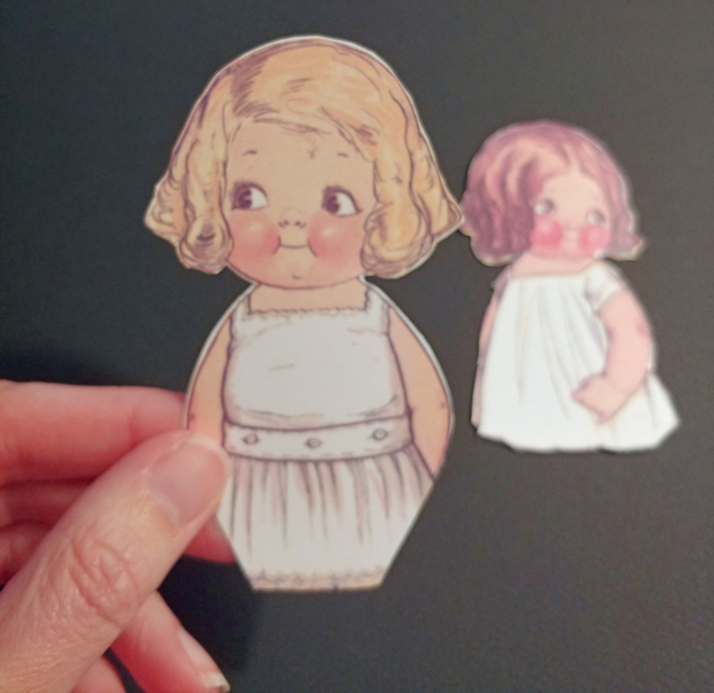 cut out the paper doll
