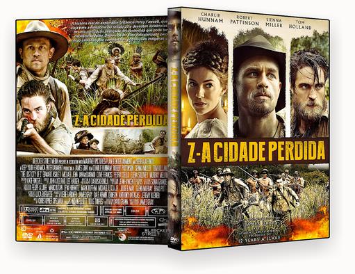 CAPA DVD – Z A Cidade Perdida DVD-R OFICIAL
