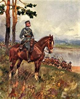 Józef Piłsudski - mal. W. Kossak