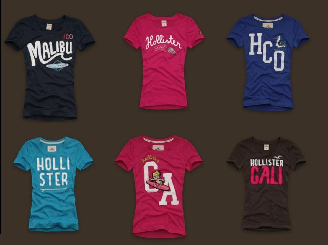 77905c480b Camiseta Hollister