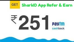 SharkID Refer and Earn Loot offer- Earn Rs.11 Par Friends | Offer tricks tips