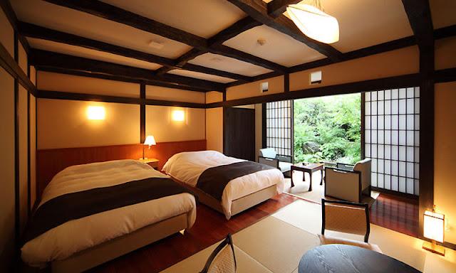 茶心之宿和樂園 Chagokoro no Yado Warakuen 山茶亭客室