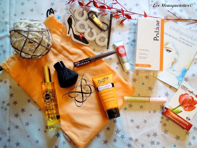 Ma Boite à Beauté L'indispensable - Blog beauté les Mousquetettes©