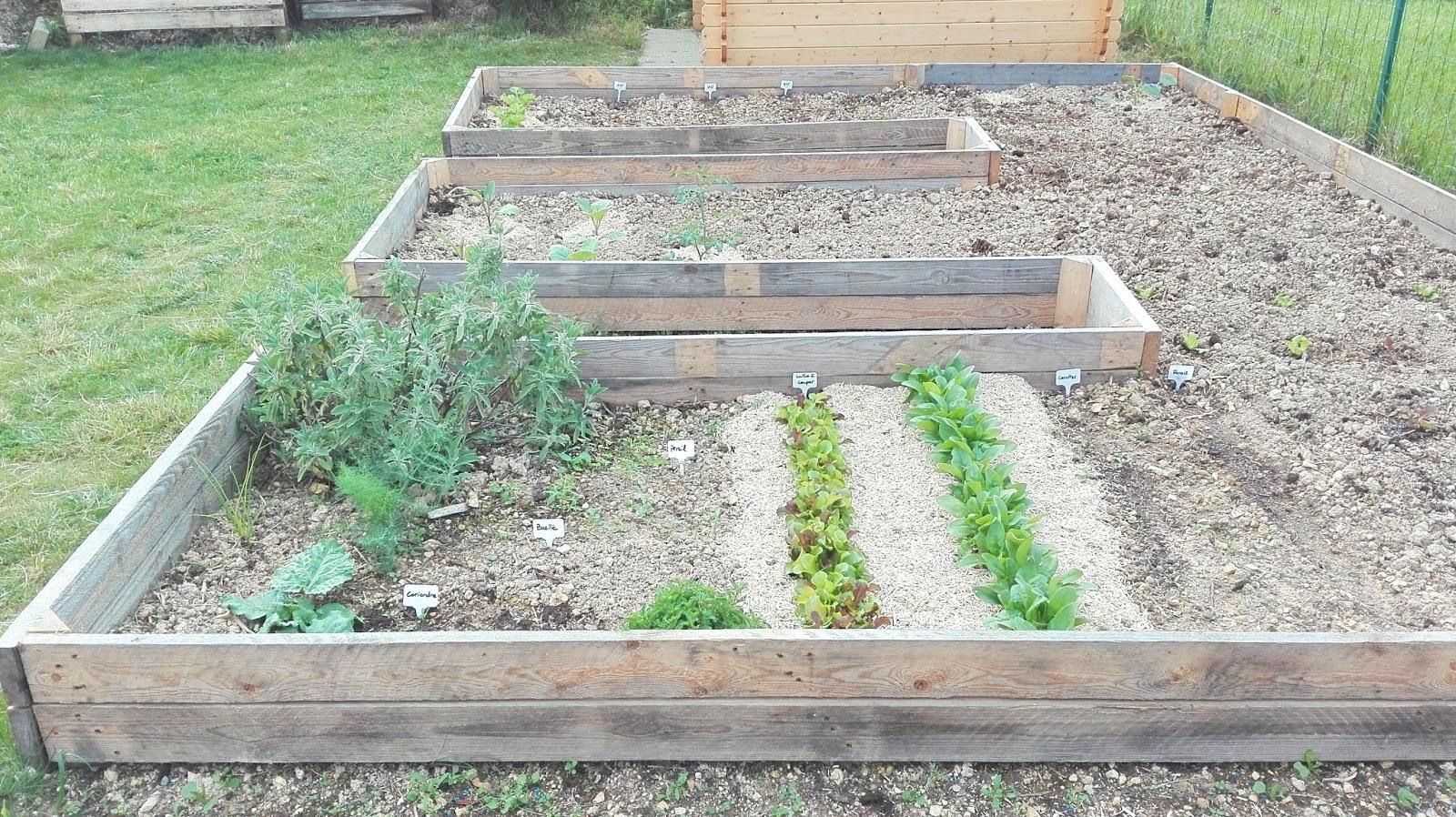 Aménager son jardin potager avec des palettes - Truc & Tricks