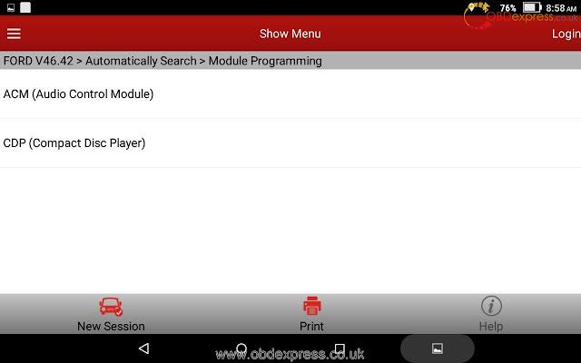 x431 v 8inch ford module Programming-04