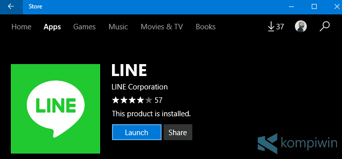 download line uwp