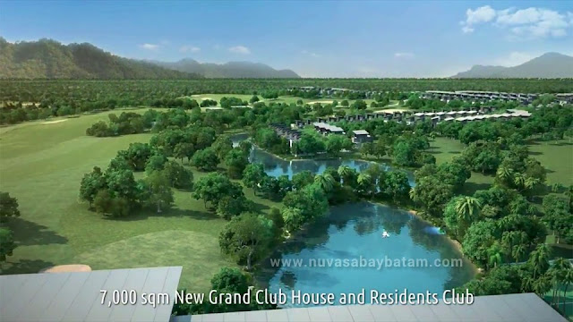 7000 sqm Nuvasa Bay Batam Club House