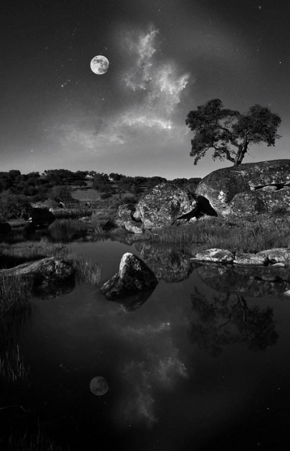 25 Gambar Pemandangan Hitam Putih HD yang Indah   Gambar ...