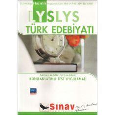 Sınav LYS Türk Edebiyati Konu Anlatımlı
