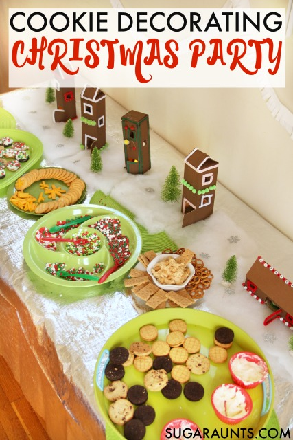 throw a cookie decorating party or play date this christmas season i love the cookie