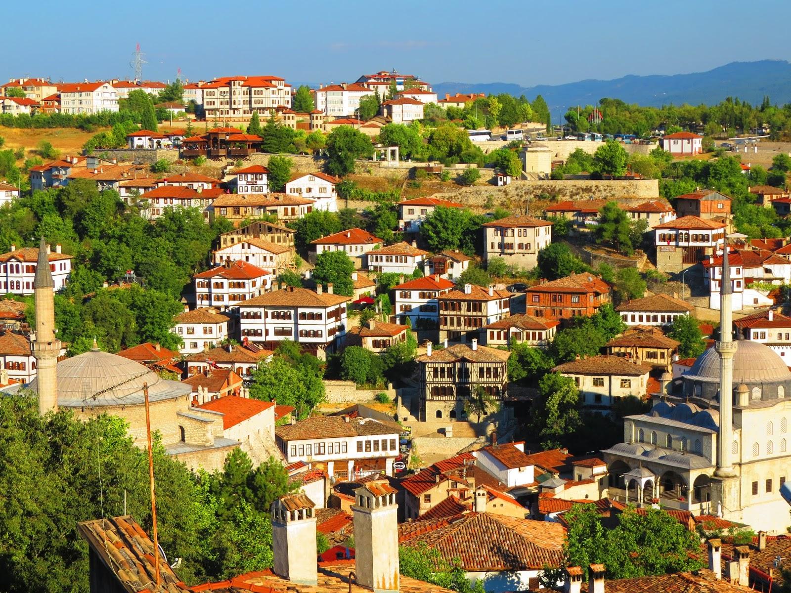 浩然行腳: 土耳其旅遊之一──番紅花城