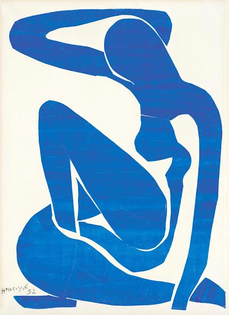 Henri Matisse Mavi Nü I