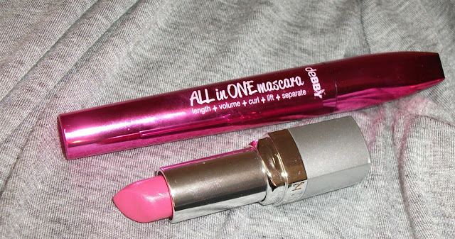 Valentina Chirico, beauty blogger, ebby All in One mascara, Avon 3D Plumping lipstick Pucker Up