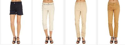 Shorts y pantalones de Galvanni para mujer