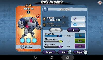 Mutants: Genetic Gladiators Breeding video N°185 (Beast - Rhino Squadron)
