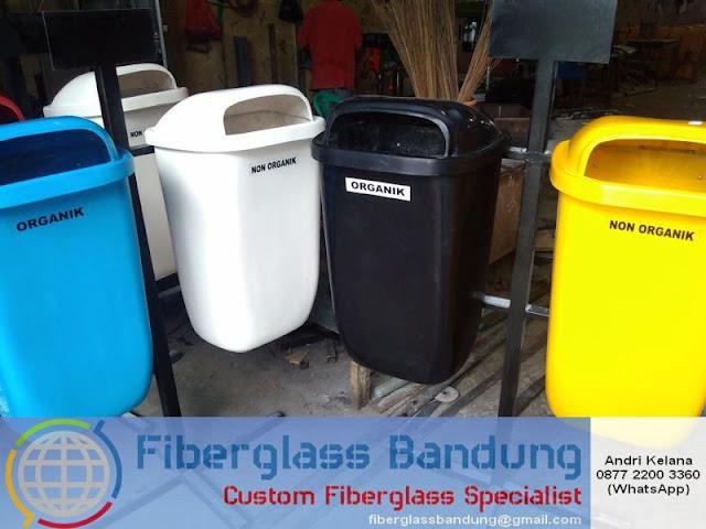 harga tong sampah fiber