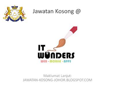 Jawatan Kosong Di IT Wonders (Internship)