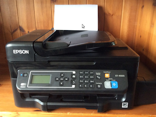 Epson WorkForce ET-4500 EcoTank All-in-One Printer Drivers Software - Firmware For Window and Mac OS