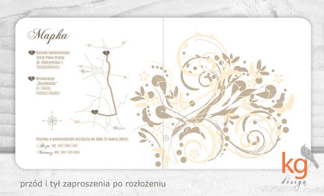 Kg Design Poligrafia ślubna Oryginalne Nietypowe Zaproszenia