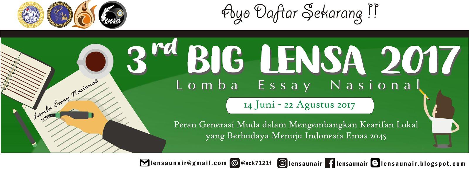 Big Lomba Essay Nasional 2017