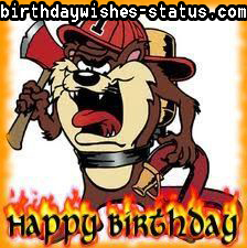 birthday wishes for fireman
